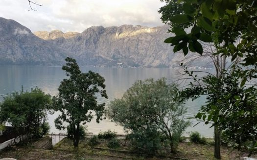 waterfront villa plot kotor bay