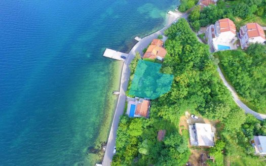 waterfront plot kotor bay