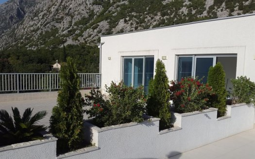 upscale penthouse overlooking the bay kotor