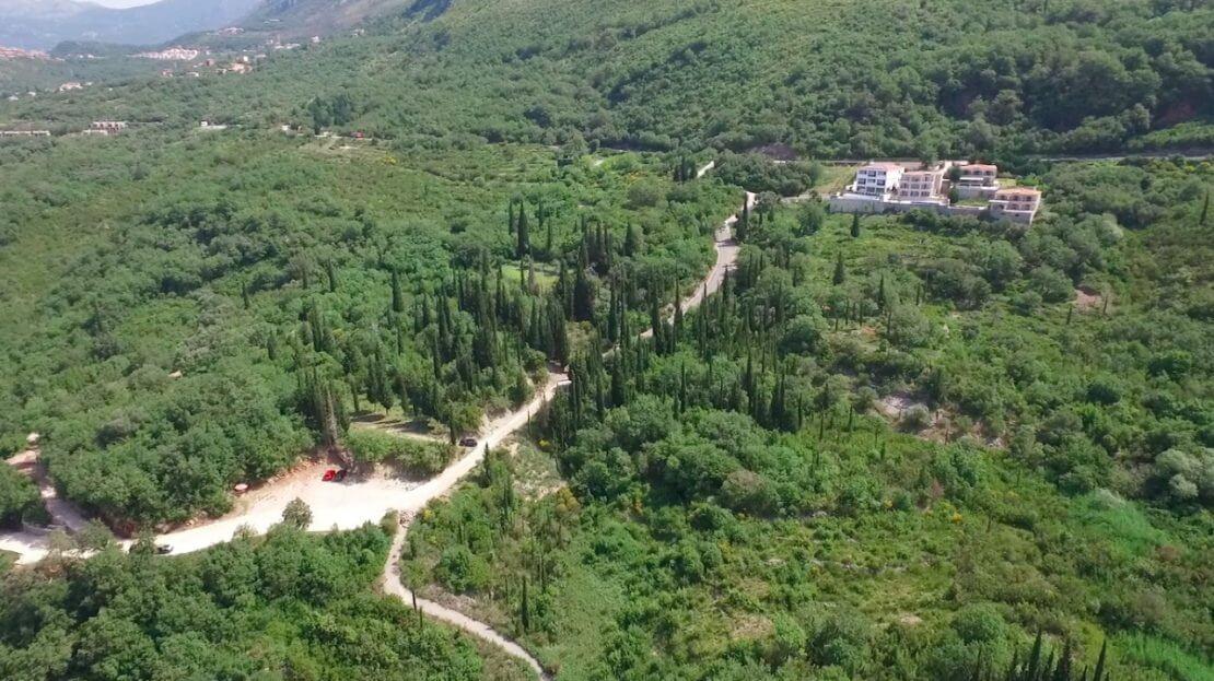 budva construction land villa