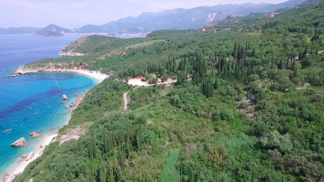 budva construction land villa