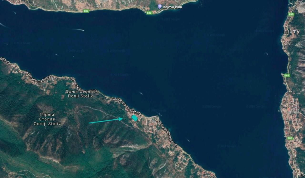 участок под строительство залив