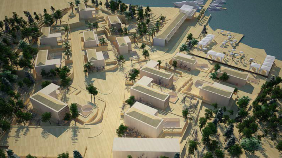 seafront development plot bay