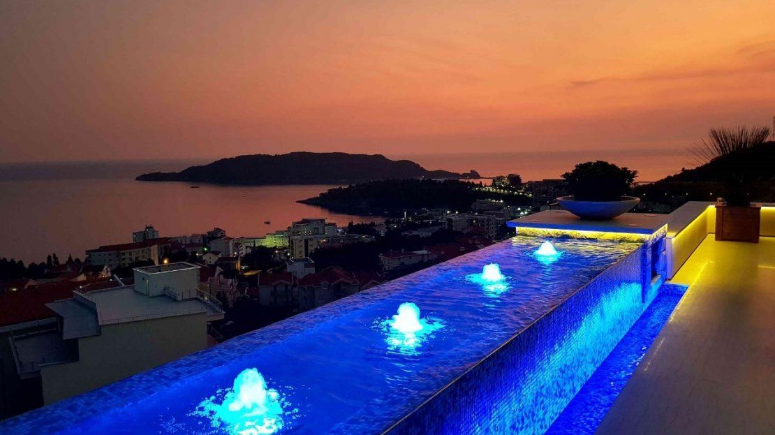 luxury penthouse becici