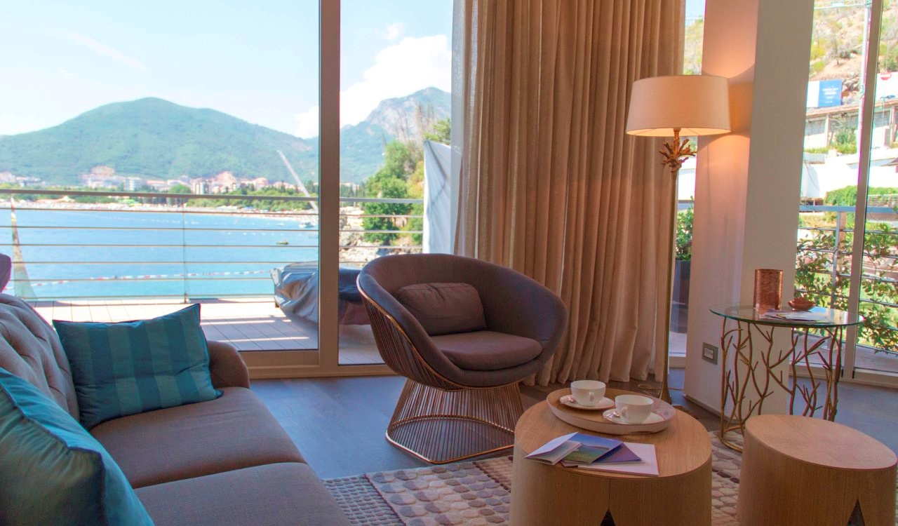 luxury apartment budva