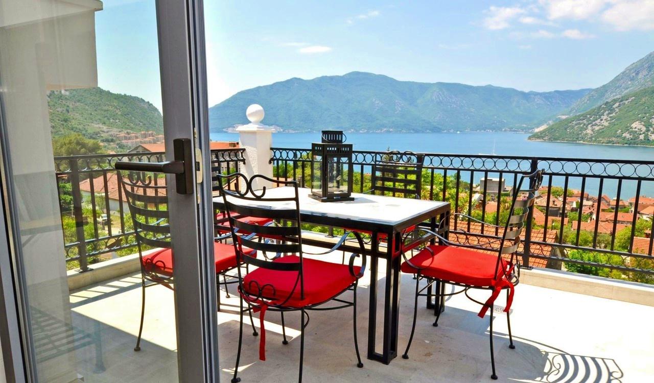 luxury penthouse apartment kotor bay