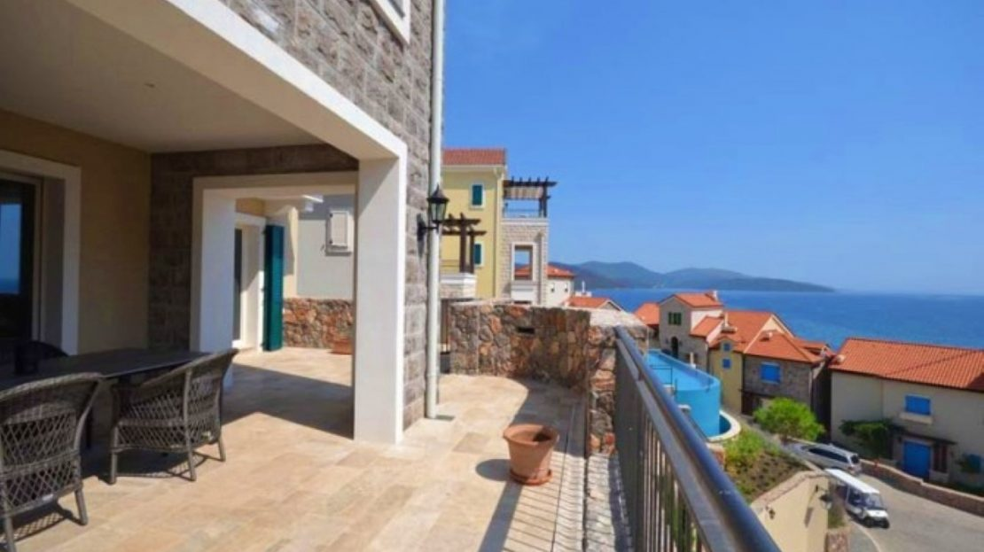 lustica bay three bedroom sale