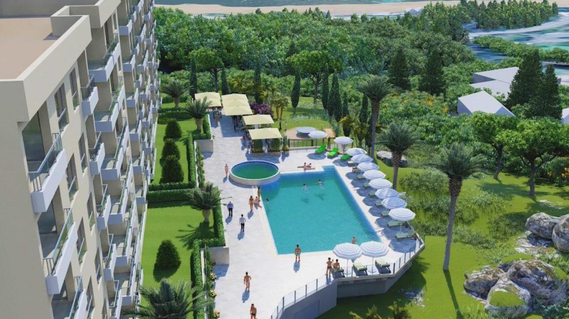 new apartment complex becici