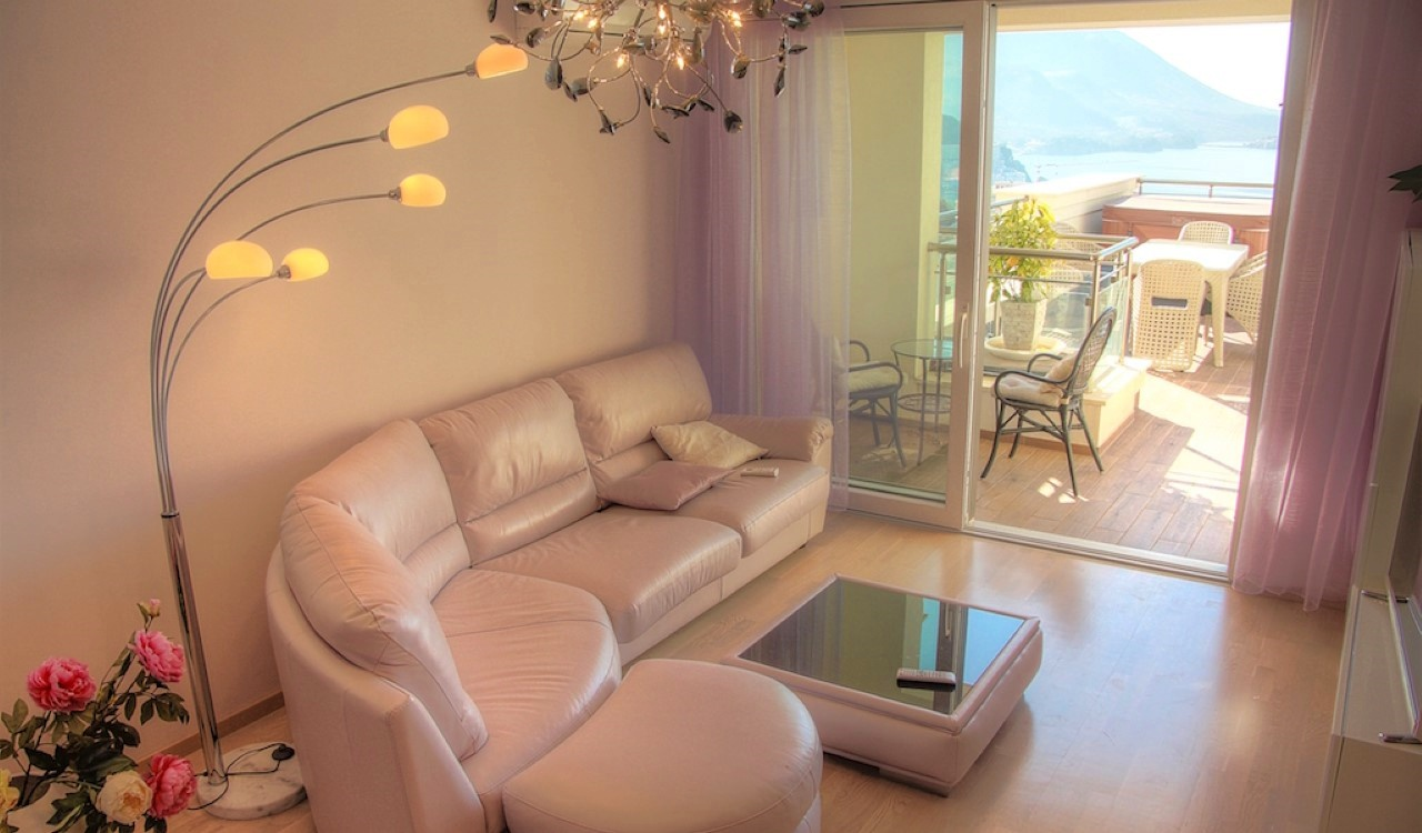 two bedroom apartment becici