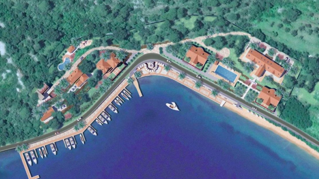 hotel development plot seafront