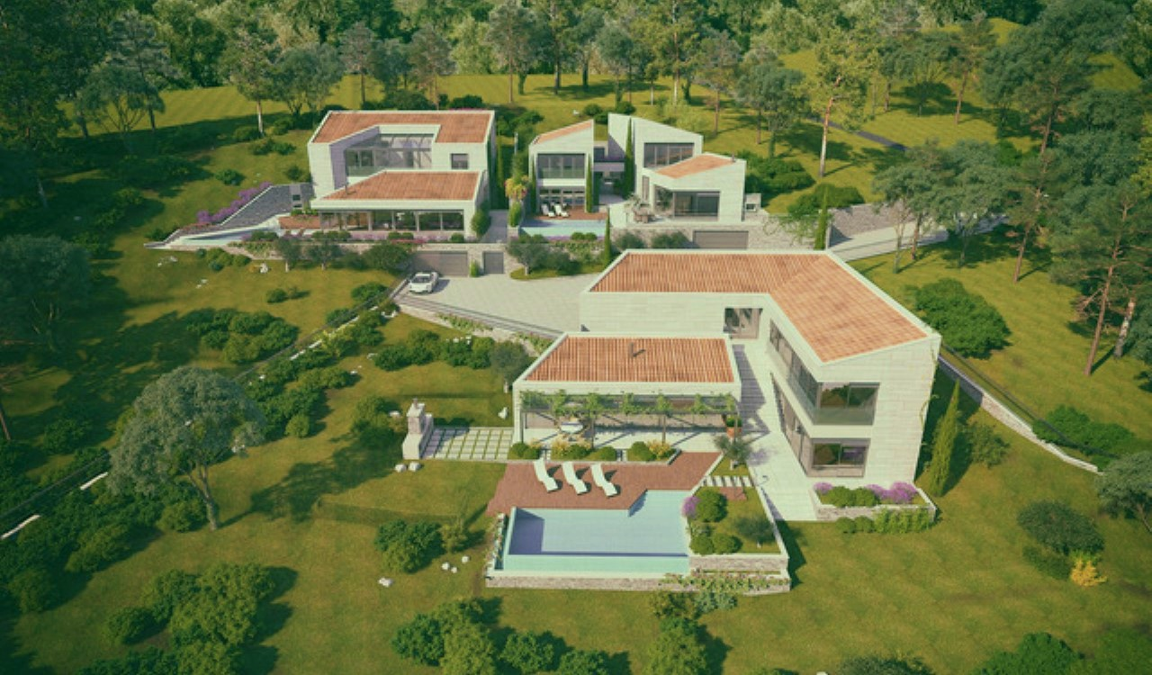 contemporary villa kotor bay