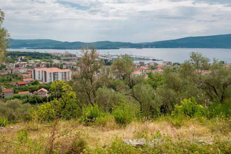 development plot villa tivat