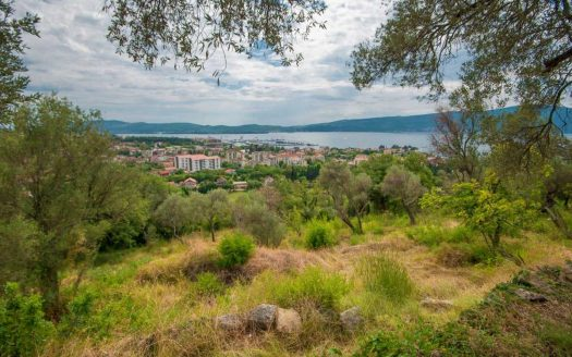 development plot villa tivat