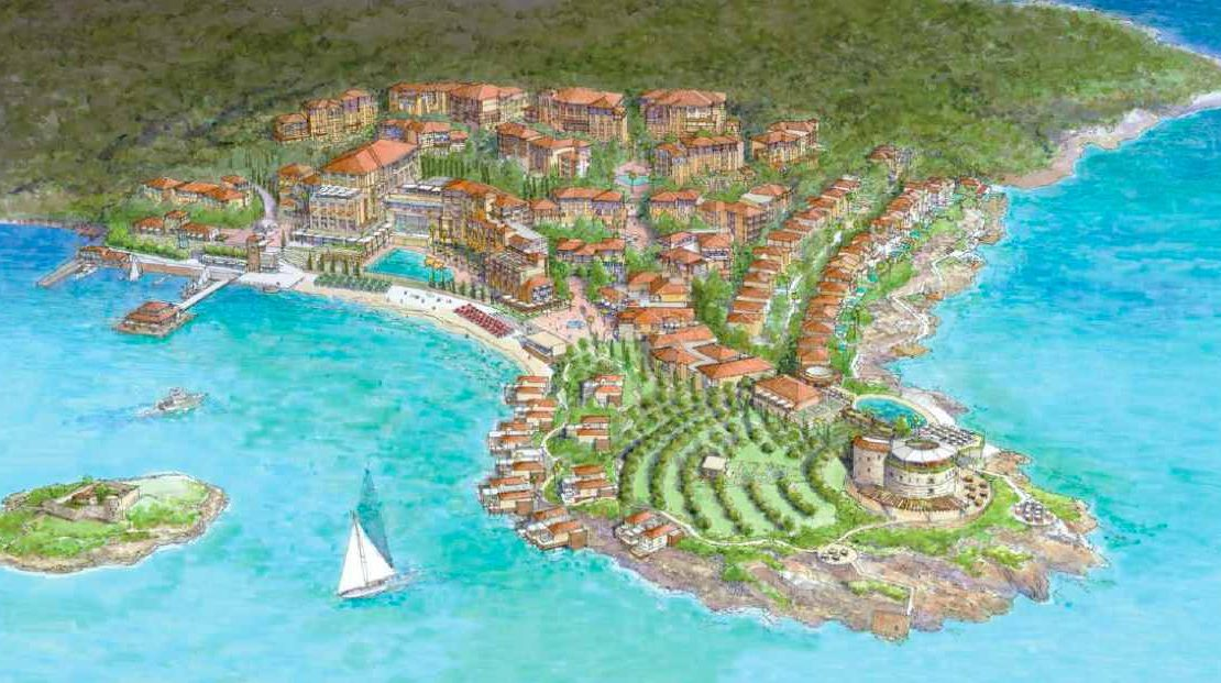 large development land lustica