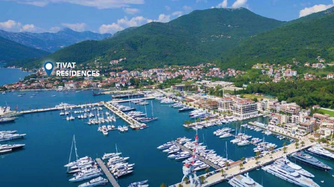 apartment residential complex tivat