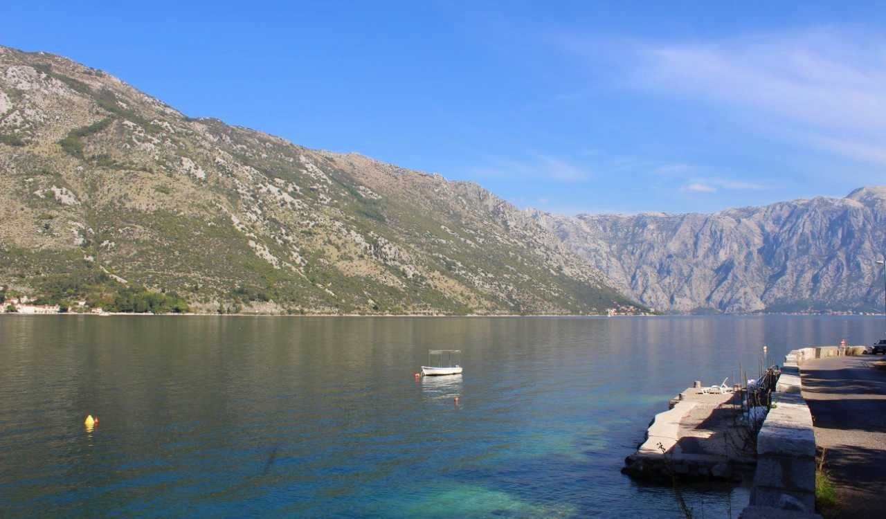kotor prcanj stone house seafront