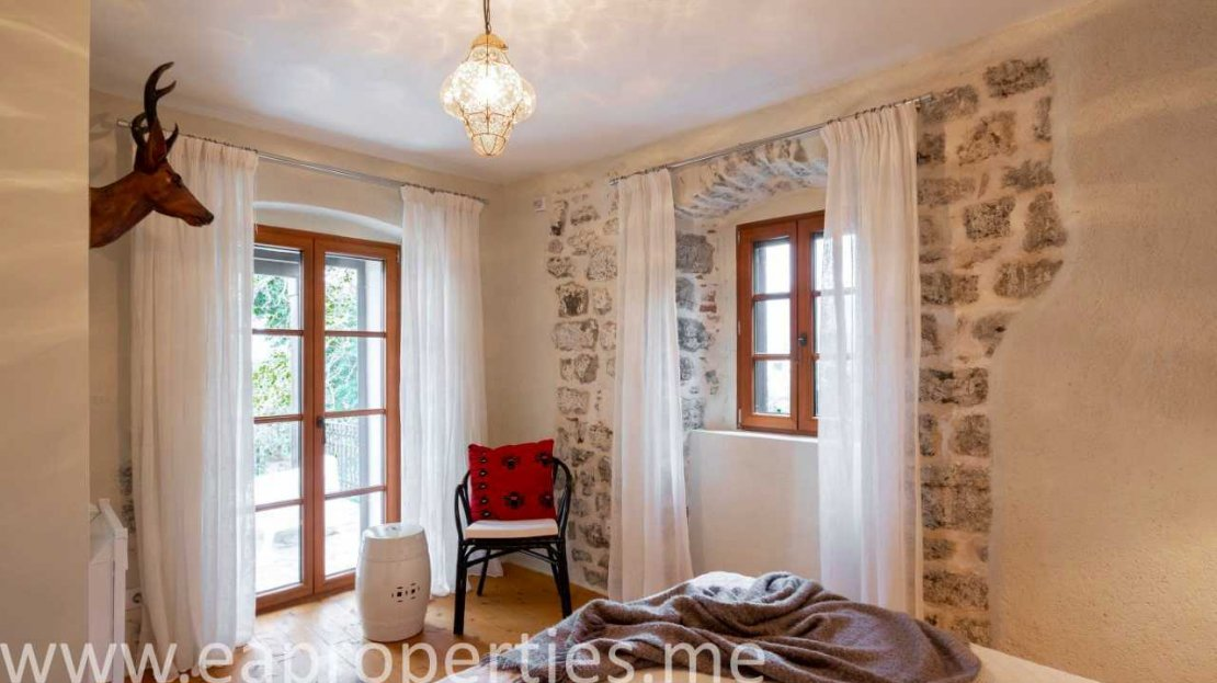 luxury stone house tivat sale