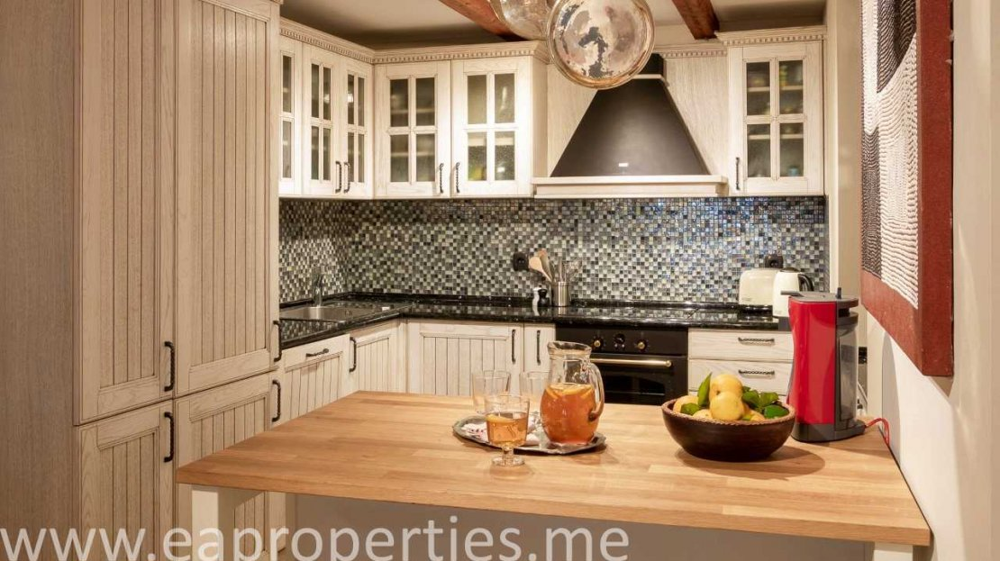 renovated stone house tivat