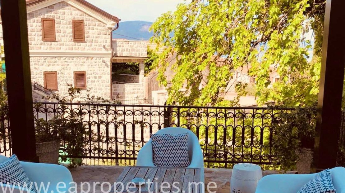 luxury stone house tivat for sale