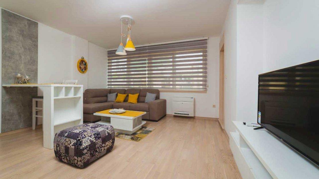 budva centre one bedroom apartment