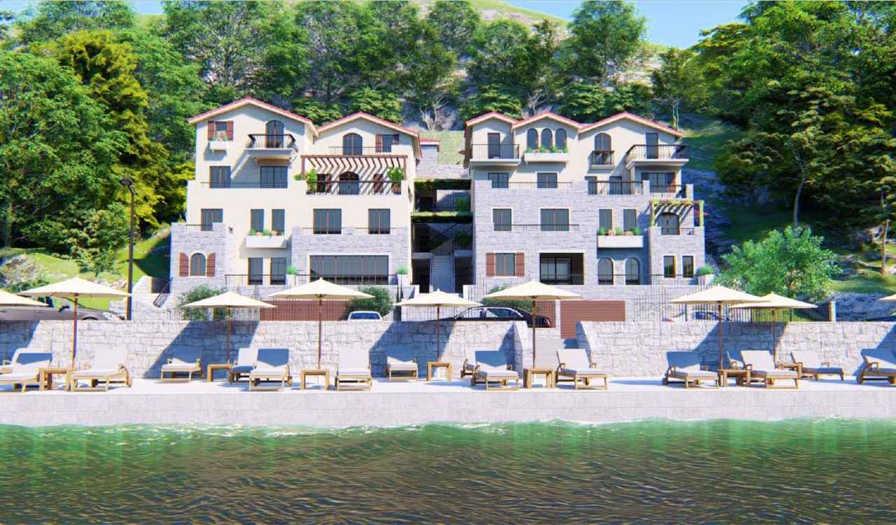 tivat apartments seafront