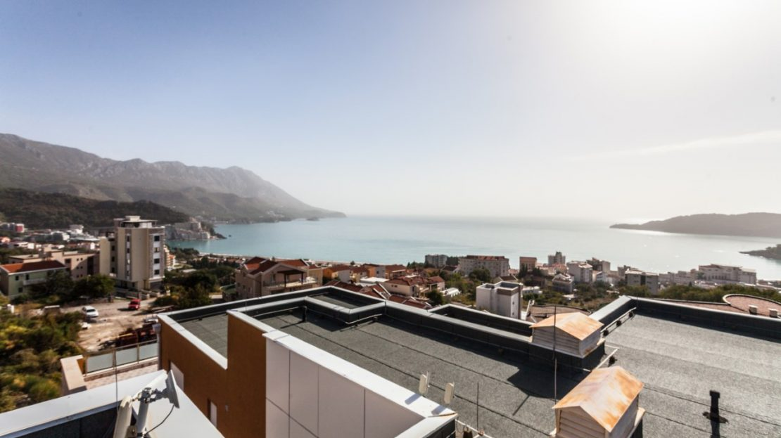 becici luxury apartment for sale
