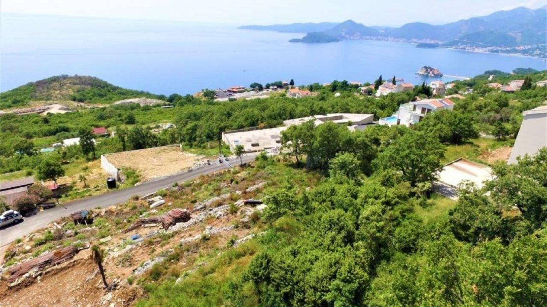 budva surroundings villa land
