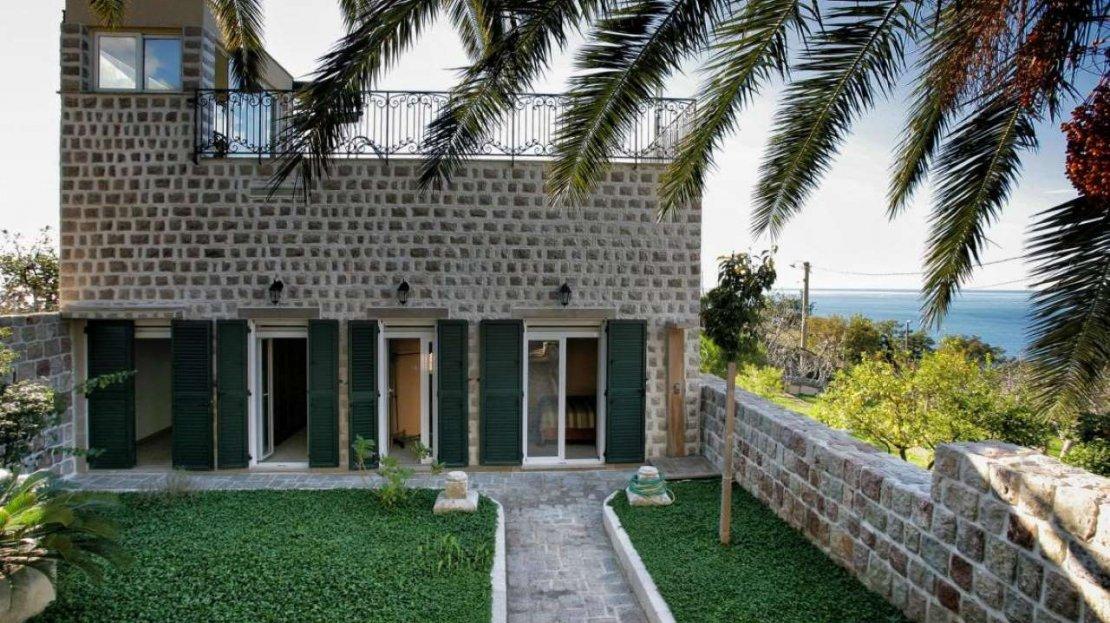 budva suburbs stone villa sale