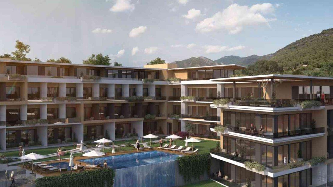 современный жилой комплекс тиват