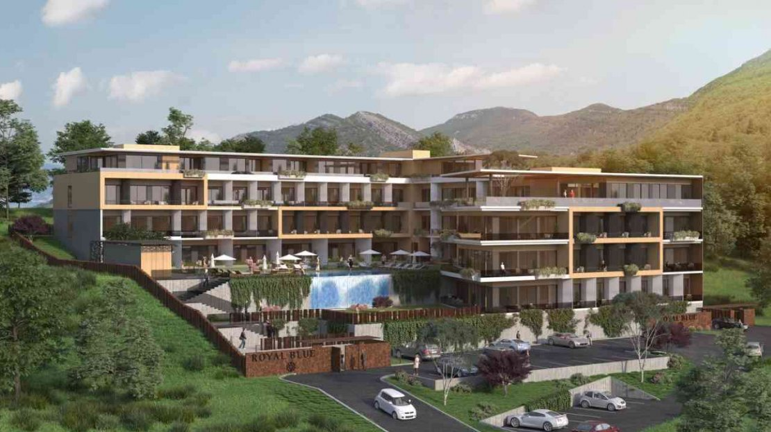 contemporary design apartments tivat