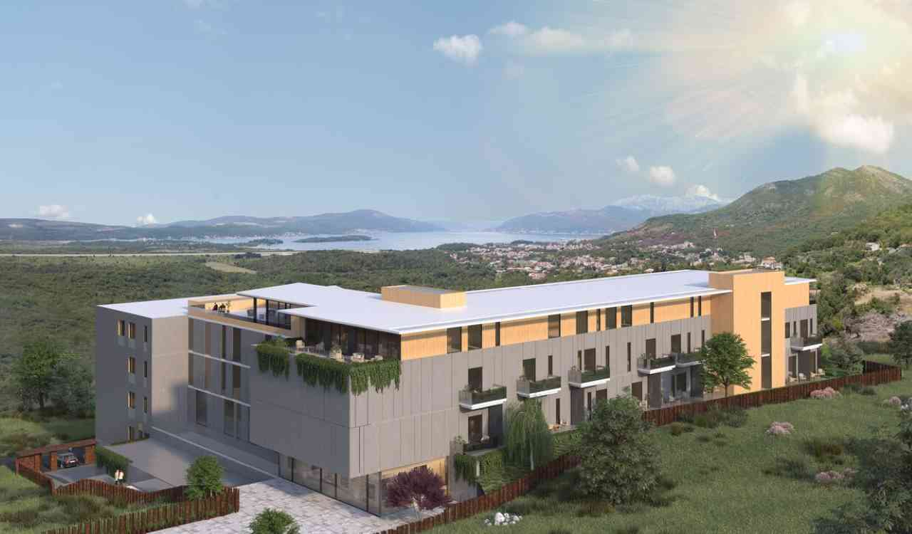 contemporary design apartments tivat