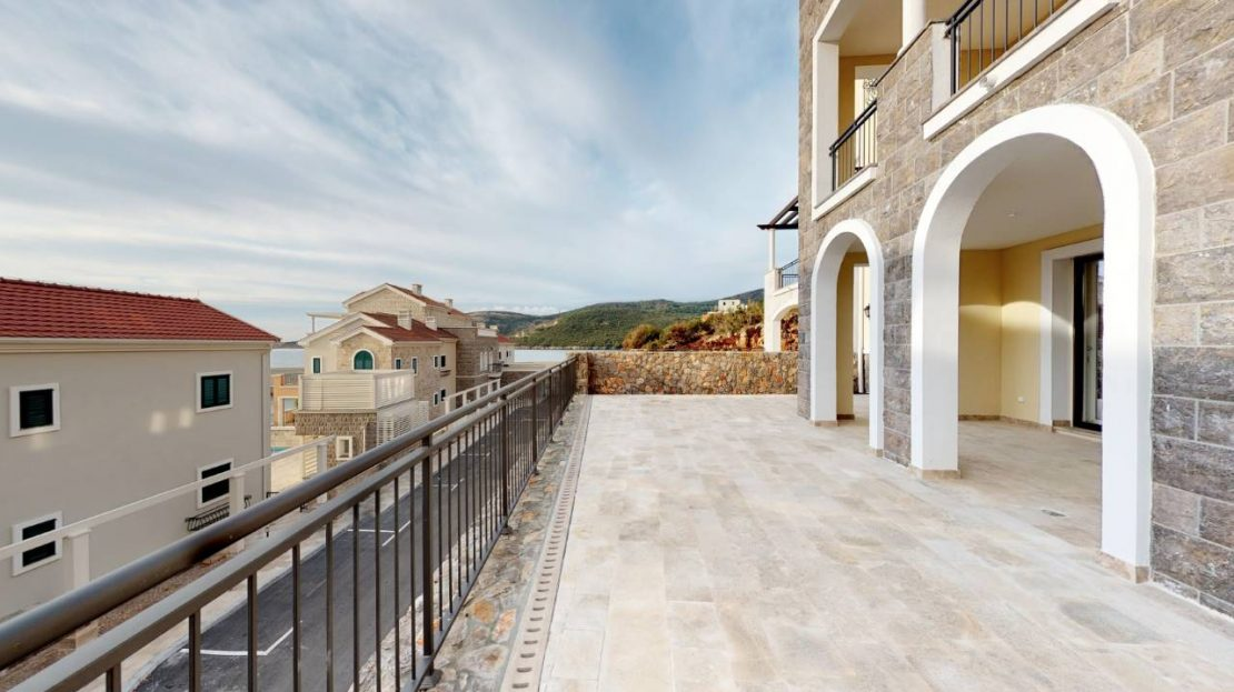 lustica bay two bedroom sale