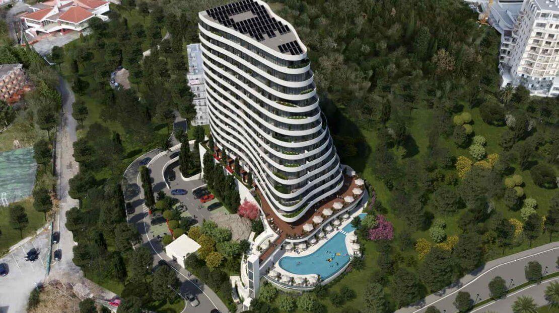 budva condo apartments sale
