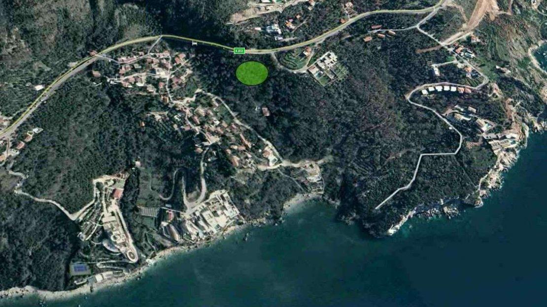 budva suburbs plot for a house