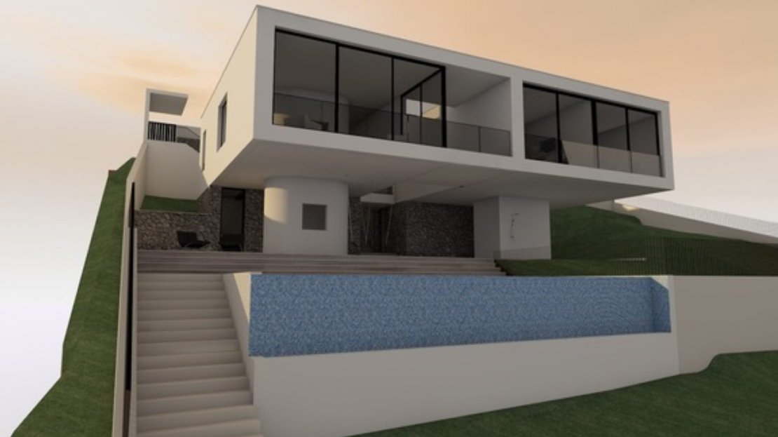 montenegro land for villa construction