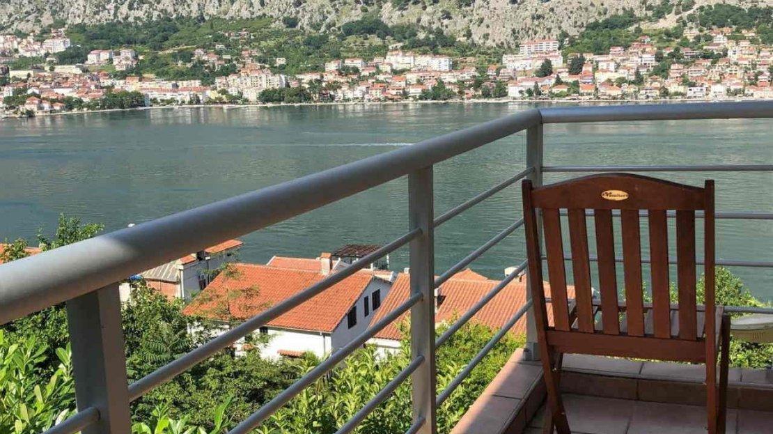 kotor luxury two bedroom apartment sale