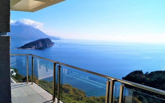 budva apartment with panoramic sea view