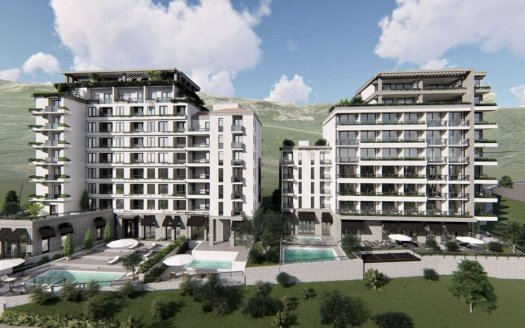apartments budva beachfront sale
