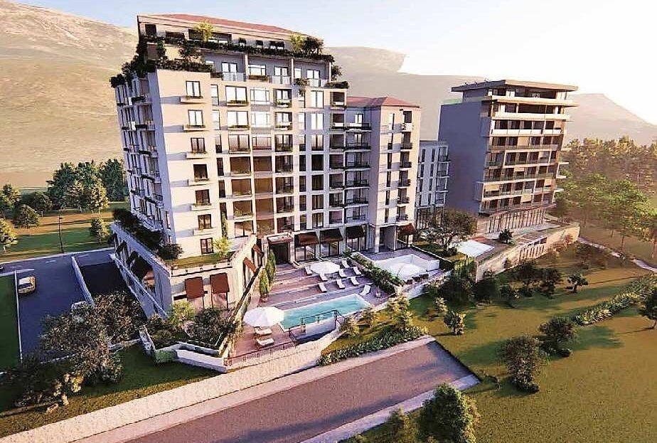 apartments budva beachfront sale