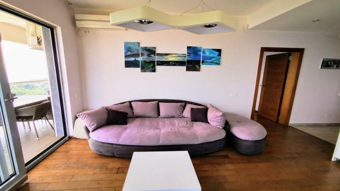 budva apartment panoramic sea view sale