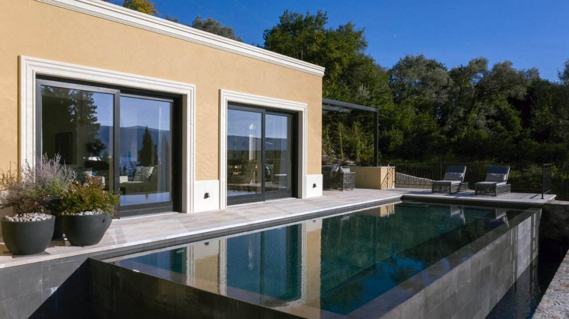 tivat newly built villa sale