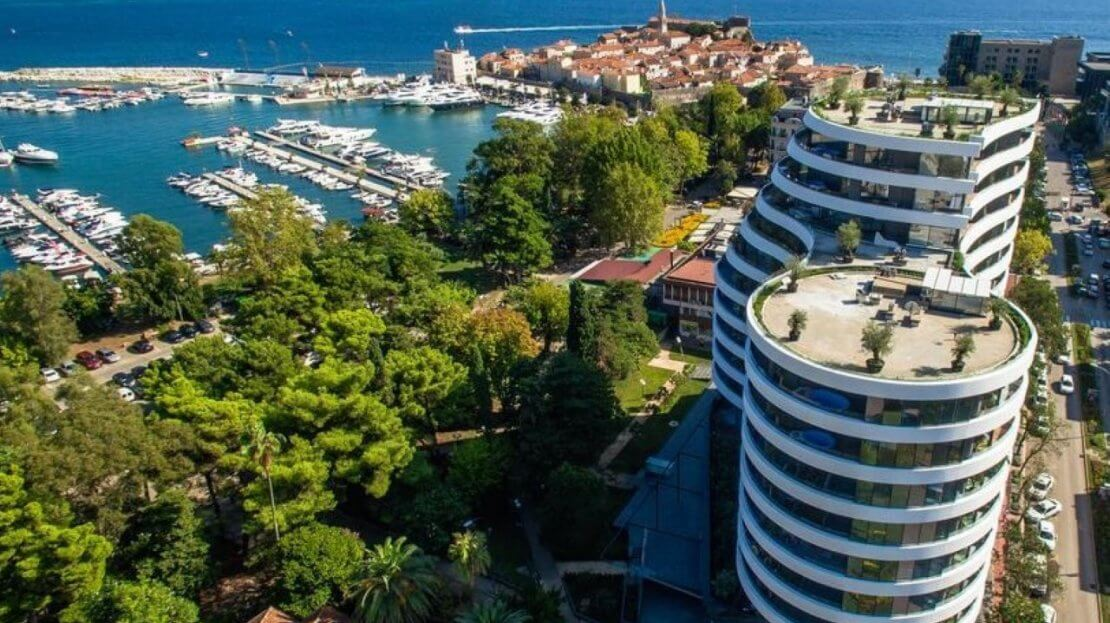 budva royal gardens apartment sale