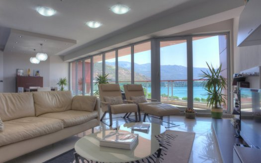 budva center three bedroom apartment sale
