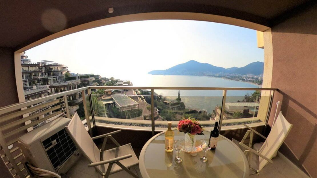 budva apartment old town view sale