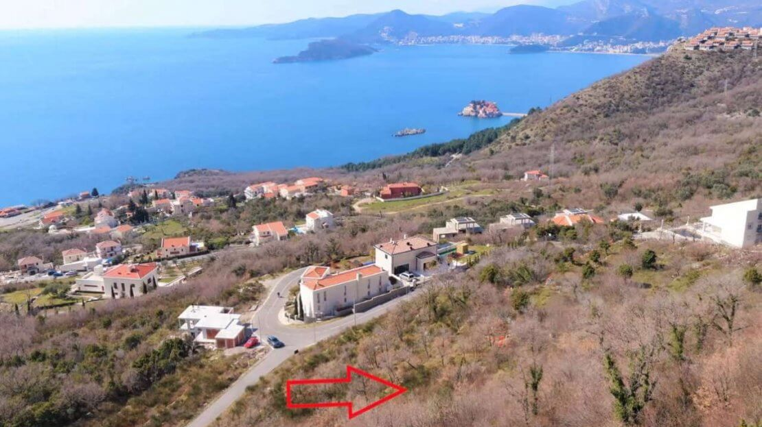 budva riviera land for sale