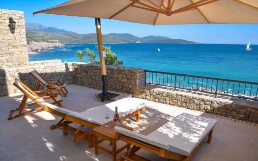seafront apartment lustica bay sale