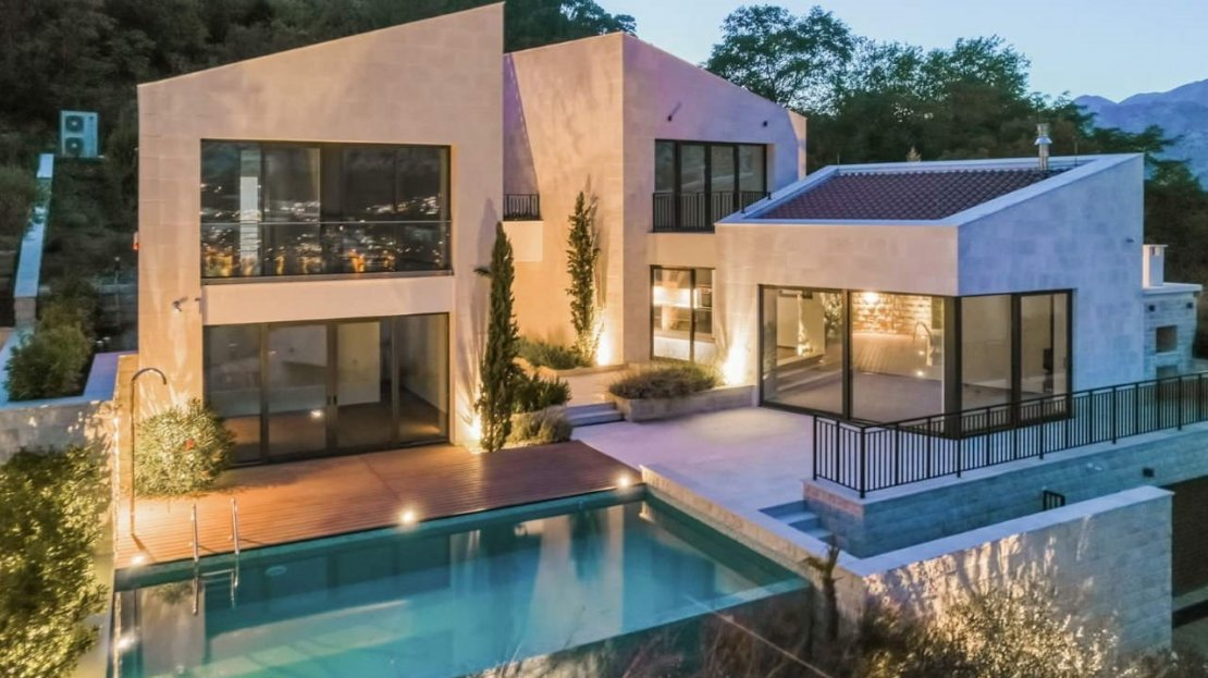 kotor bay luxury villa for sale